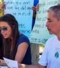 Reportaje gráfico de la jornada de rueda de prensa e información a la ciudadanía, Playa del Carmen, Quintana Roo.