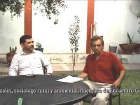 Gerardo Jimenez: sobreexplotación de los mantos acuiferos, el problema del agua en la Laguna