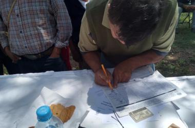 Recolección de firmas: Tezontepec Hidalgo